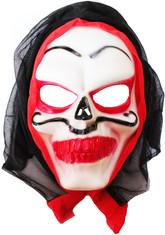 Скелеты и мертвецы - Маска Ужасное лицо в капюшоне