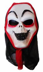 Скелеты и мертвецы - Маска Жуткое лицо в капюшоне