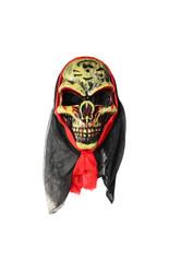 Мужские костюмы - Маска злого черепа в капюшоне