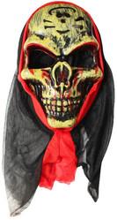 Скелеты и мертвецы - Маска злого черепа в капюшоне