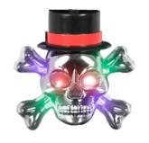 Скелеты - Медальон светящийся череп