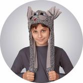 Волки - Меховая шапочка-маска Волка