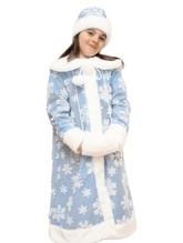 Снегурочки и Снежинки - Меховой костюм девочки Снегурочки