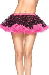 Мини-юбка в горошек