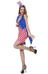 Международный женский день 8 марта - Костюм Мисс Америка