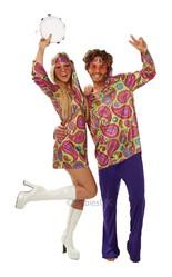 Ретро и Гангстеры - Мужской костюм Хиппи 70-хх