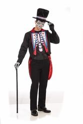 Скелеты и мертвецы - Мужской костюм на день мертвых