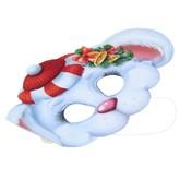 На Новый год - Набор новогодних масок Зайка 5 шт