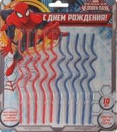 Человек-паук - Набор свечей Человек Паук 10 шт