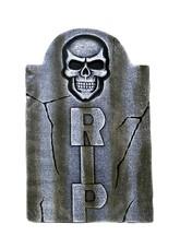 Декорации - Надгробие с черепом RIP