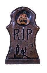 Декорации - Надгробие с тыквой