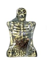 Скелеты и Зомби - Надгробие Скелет желтый