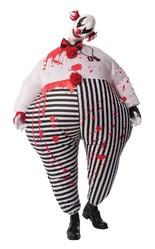 Клоуны - Надувной костюм кровожадного клоуна