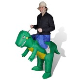Динозавры - Надувной костюм На динозавре