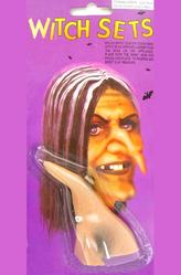 Женские костюмы - Накладной нос ведьмы