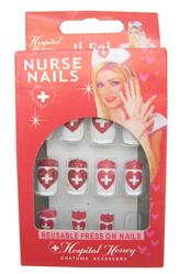 Женские костюмы - Накладные ногти докторши