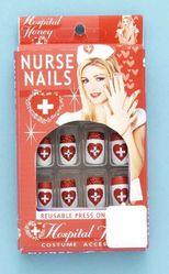 Медсестры - Накладные ногти медсестры