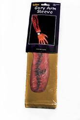 Перчатки и боа - Нарукавник со шрамом