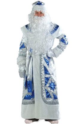 Нарядный Дед Мороз синий