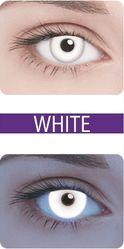 Ресницы и линзы - Неоновые Neon White