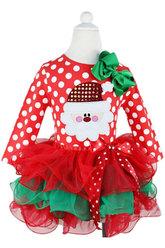 Платья для девочек - Новогодняя милашка