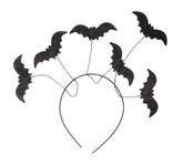 Летучие мыши - Ободок с блестящими летучими мышами