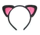 Кошки - Ободок с ушками кошечки