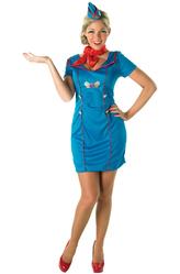 Стюардессы и Капитаны - Костюм Обольстительная стюардесса