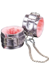 Оковы металлик с розовым