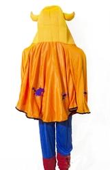 Страшные - Оранжевая накидка с рожками