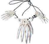 Женские костюмы - Ожерелье с костями рук