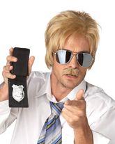 Полицейские и Грабители - Парик детектива блондина