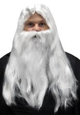 На Новый год - Парик и борода Мерлина