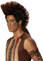 Исторические - Парик индейца воина