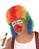 Клоуны - Парик клоуна разноцветный
