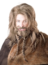 Борода и усы - Парик викинга