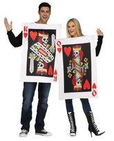 Смешные и Веселые - Парный костюм Король И Королева червей