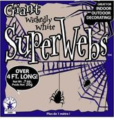 Для костюмов - Паутина с пауком 20 грамм