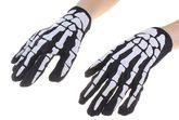 Скелеты и Зомби - Перчатки Руки скелета черные