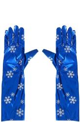 Перчатки и боа - Перчатки со снежинками