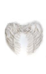 Ангелы и Феи - Перьевые белые ангела