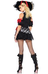 Пиратские костюмы - Костюм Пиратка с черепами