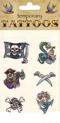 Женские костюмы - Пиратские тату