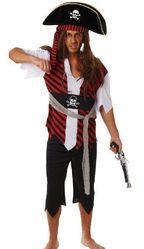 Пираты и капитаны - Пиратский костюм для взрослых