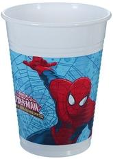 Человек-паук - Пластиковые стаканы Человек Паук 8 шт