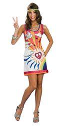 Ретро-костюмы 70-х годов - Платье хиппи