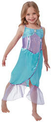 Русалочки - Платье русалочки фиолетово-голубое
