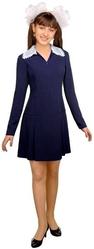 Школьницы и студентки - Платье школьницы синее