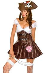 Женские костюмы - Платье Веселой пиратки