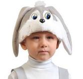 Зайчики и Кролики - Плюшевая маска Серого Зайки